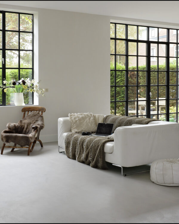 Marmoleum beton collectie betonlook marmoleum vloeren bij thuisin