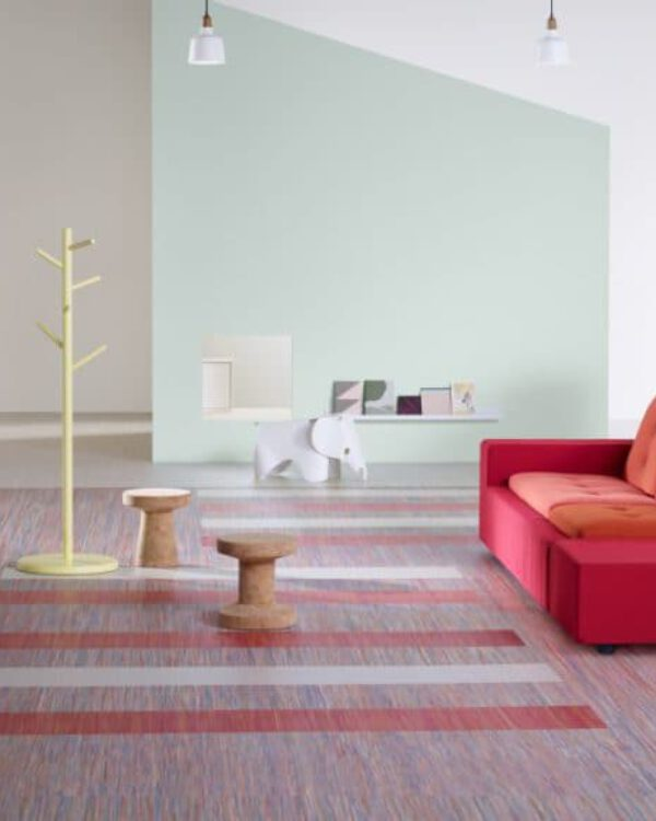 Marmoleum Vloer Verven : Marmoleum linoleum een strakke duurzame vloer bij thuisin
