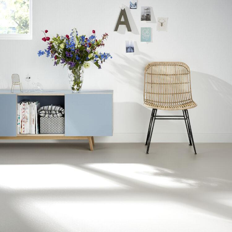 Interieuradvies - Beton vinyl Thuisin Forbo, scandinavische stijl
