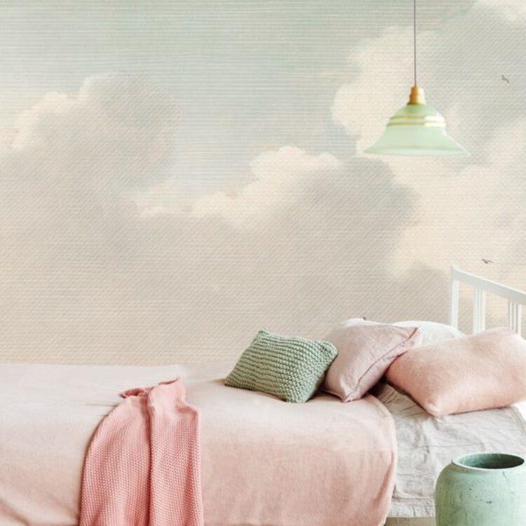 Blog pastel behang Masterpiece Eijffinger, scandinavische stijl